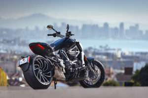 Ducati XDiavel still showing off