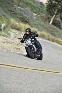 Ducati XDiavel corner