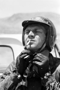Celebrity Bikers Steve McQueen